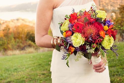 Chọn hoa tone ấm áp cho đám cưới mùa lạnh 14