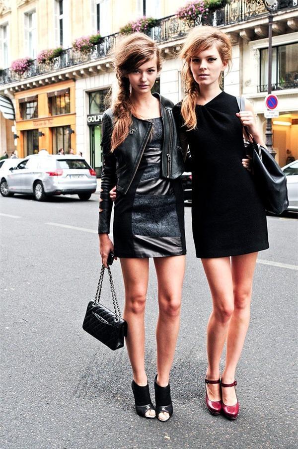 Biến hoá 1 chiếc váy đen theo 4 hoàn cảnh cho mùa Thu/Đông 10