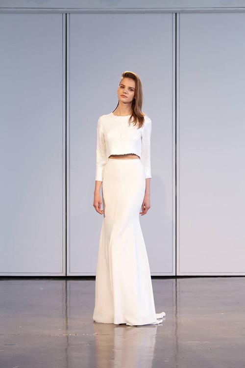 11 mẫu váy cưới thanh lịch khó lỗi mốt - 9