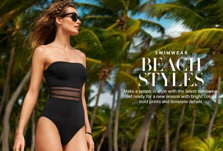 Thiên thần Victoria's Secret náo loạn bãi biển