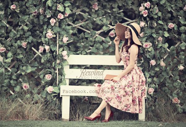Chọn váy xòe vintage tinh tế như cô nàng kẹo ngọt