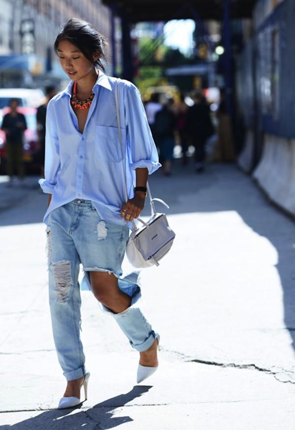 Gợi ý mix giày đẹp nổi bật với đủ dáng quần jeans