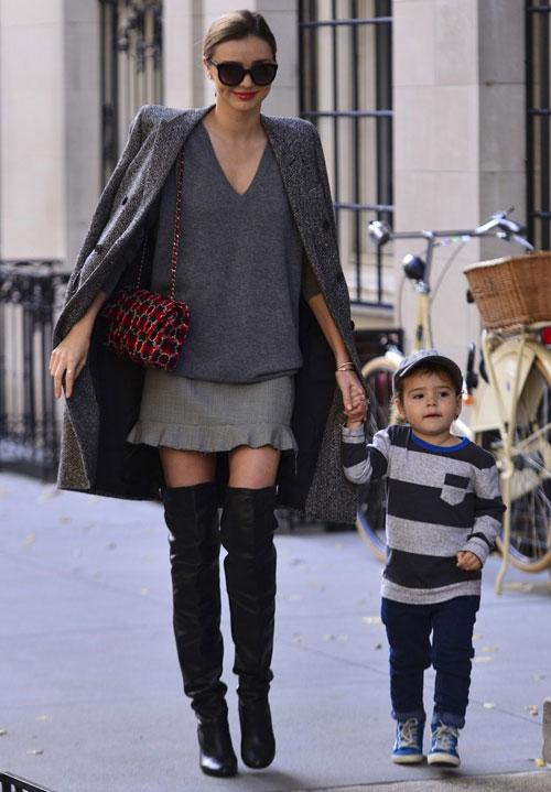 Chọn áo khoác mùa đông chuẩn như Miranda Kerr - 10