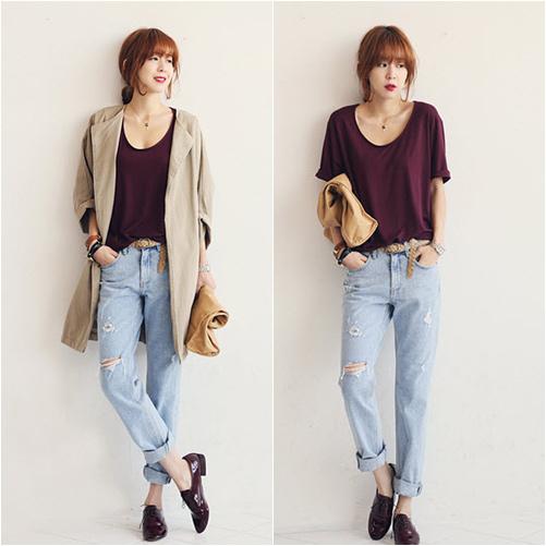 'Chất lừ' với quần jeans dáng thụng - 12
