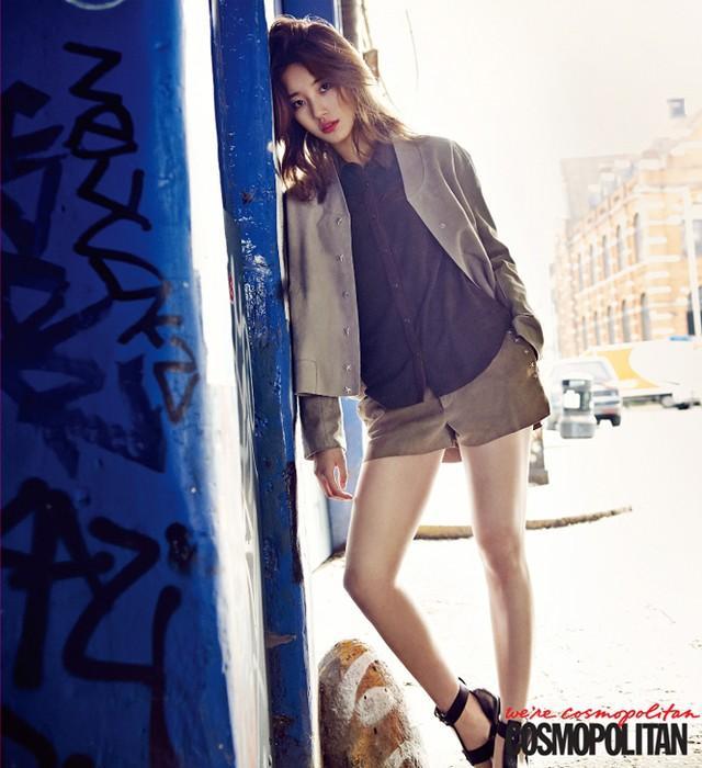 Suzi (Miss A) - bạn gái của Lee Min Ho đẹp quyến rũ trên tạp chí Cosmopilitan