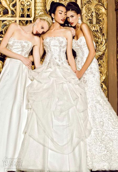 Váy cưới lộng lẫy của Yumi Katsura