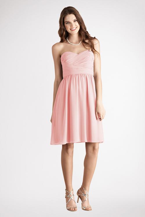Xu hướng váy phù dâu tone màu pastel 2014 2