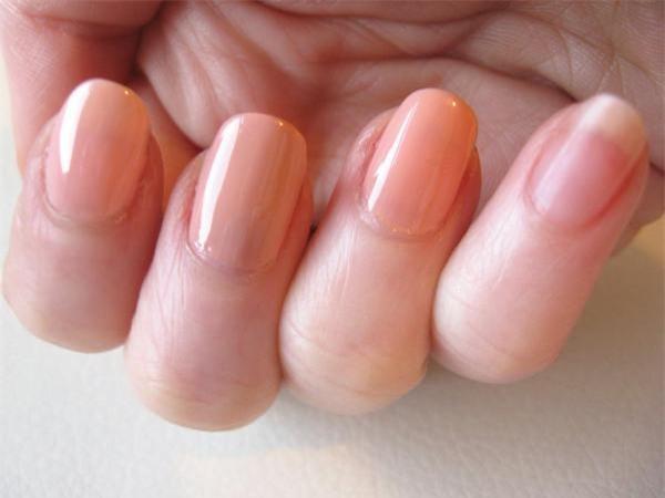 nail màu nude, nail đẹp