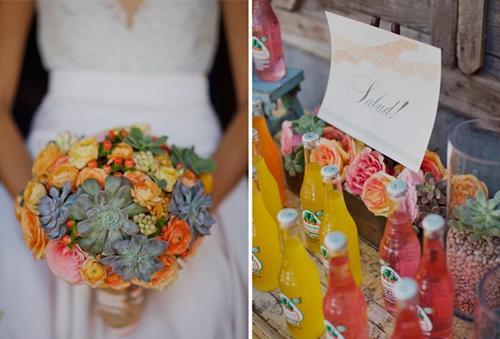 Chọn hoa tone ấm áp cho đám cưới mùa lạnh 17