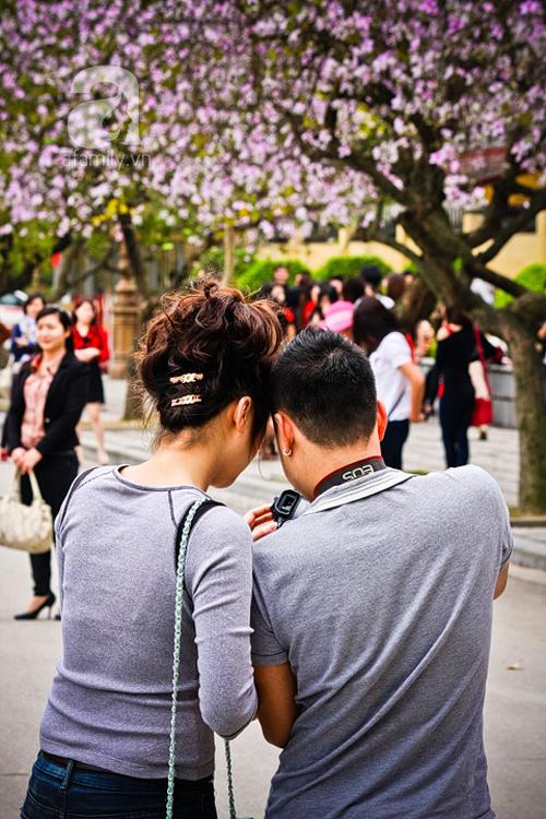 Hoa ban nở rộ đẹp nao lòng, giới trẻ Hà Thành nô nức chụp hình 10