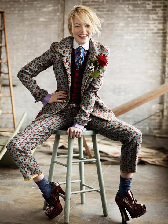 Emma Stone - Nét gợi cảm đằng sau vẻ trong sáng 19