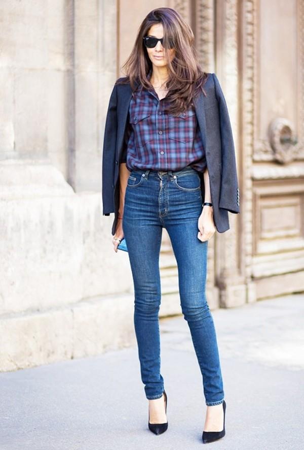 Quần jeans phù hợp với vóc dáng