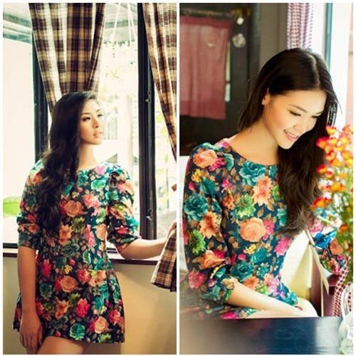 Những mốt váy hoa 'xiêu lòng' người đẹp - 15