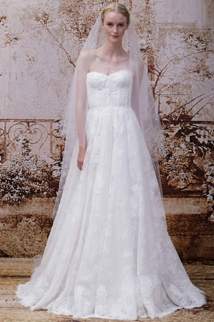 Những mẫu váy cưới đẹp nhất trong mùa Thu 2014