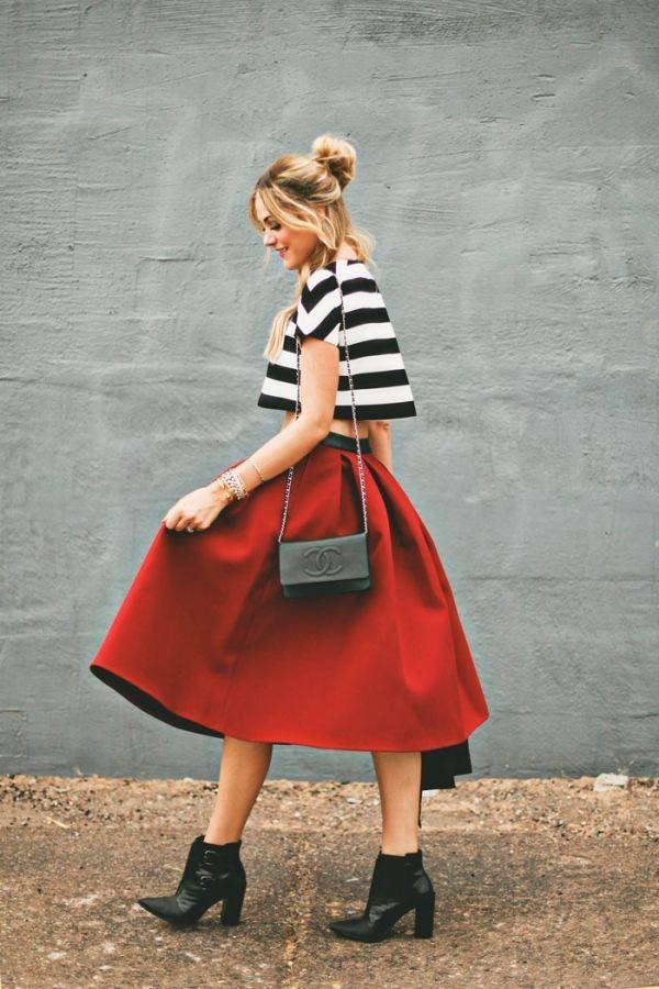 Chọn giày hợp với từng loại váy