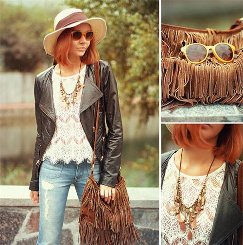 Phong cách hippy mới lạ mùa thời trang thu đông 2013