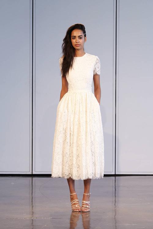 11 mẫu váy cưới thanh lịch khó lỗi mốt - 12
