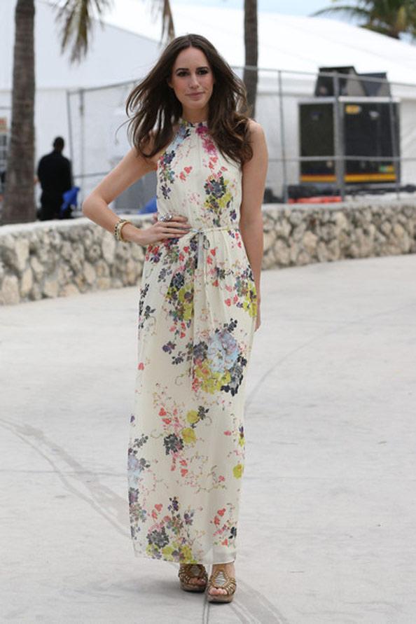 Các mẫu váy maxi đẹp như 'sao' ngoại