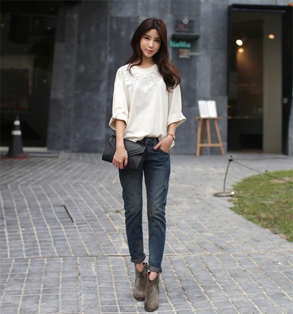 Tips chọn và mix quần jeans đúng trend cho mùa thu 13
