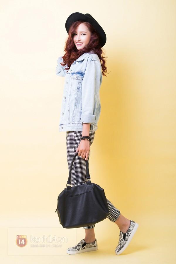 5 cách mix&match cực xinh với denim jacket quen thuộc 16