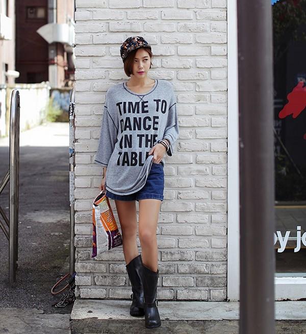 10 cách mix sáng tạo và trendy với áo phông oversized cá tính 20