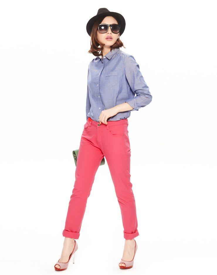 Chào mùa hè rực rỡ với guu áo sơ mi sắc màu