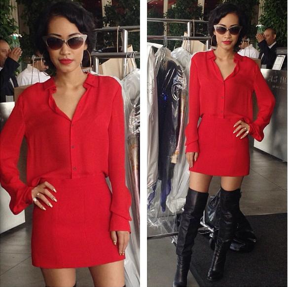 NTK gốc Việt Nini Nguyen - từ lao công trở thành stylist riêng của Rihanna 16