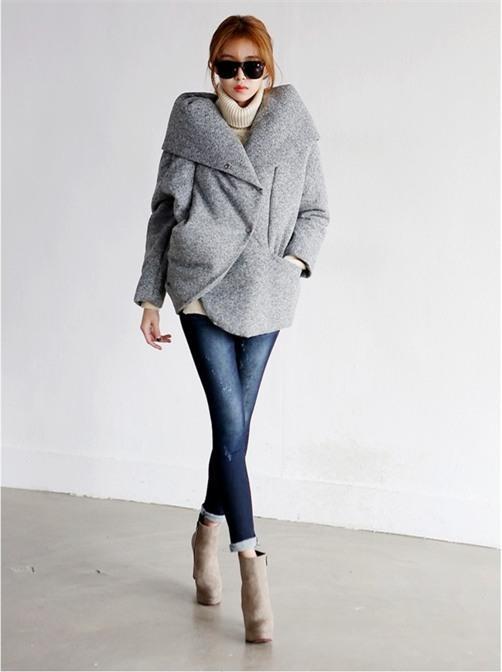 Kết hợp áo khoác vừa ấm, vừa sang cho phái đẹp công sở 15