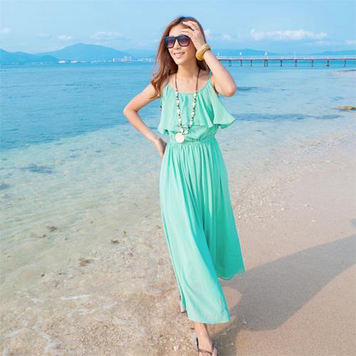 Váy đi biển đẹp hè 2013