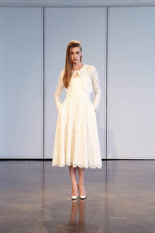 11 mẫu váy cưới thanh lịch khó lỗi mốt - 8