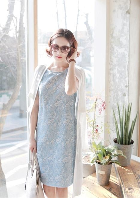 Áo, váy hoa đẹp 2014 hợp guu thời trang công sở