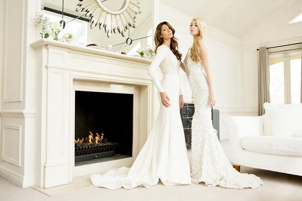 Xu hướng váy cưới dài tay cho mùa đông lạnh giá 14