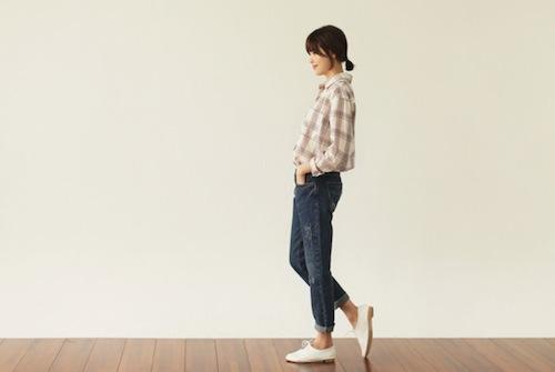 """""""Đổi gió"""" công sở với bộ đôi quần jeans - áo sơ mi"""