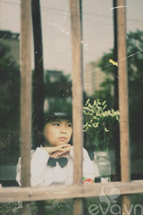 Cô bé lớp 7 có hình trên tạp chí Vogue Ý - 6