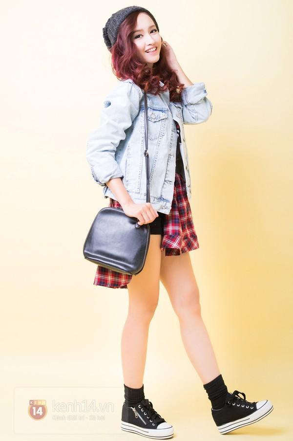 5 cách mix&match cực xinh với denim jacket quen thuộc 12