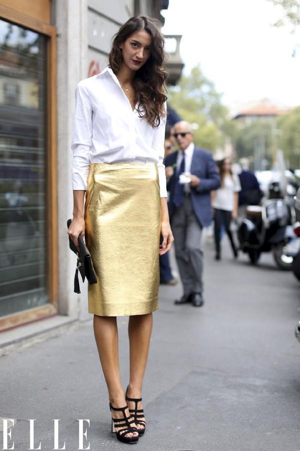10 chiếc chân váy hè quen thuộc của phái đẹp 8