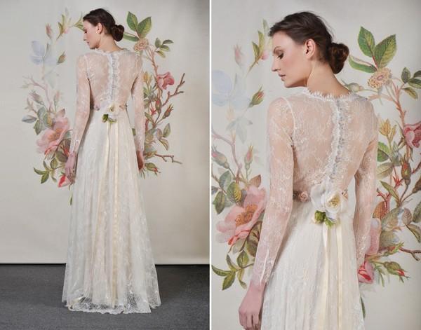Xu hướng váy cưới dài tay cho mùa đông lạnh giá 18