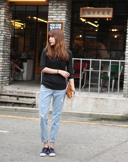 'Chất lừ' với quần jeans dáng thụng - 15