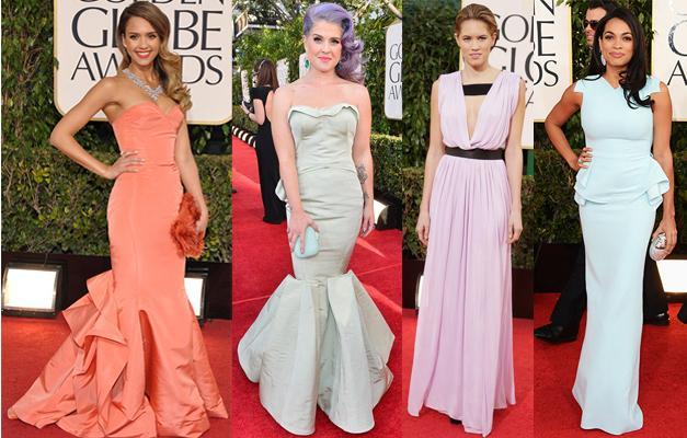 Từ trái qua: Jessica Alba, Kelly Osbourne, Cody Horn, Rosario Dawson.