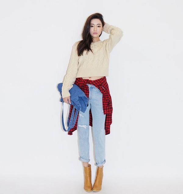 Cropped Sweater - chiếc áo giúp bạn