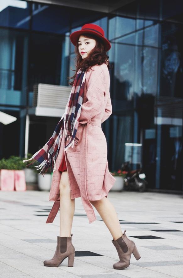 Chọn áo khoác cho nàng công sở đón rét kéo dài 13