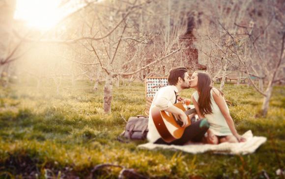 Tình yêu đẹp như phim của Thần Nông và Song Ngư
