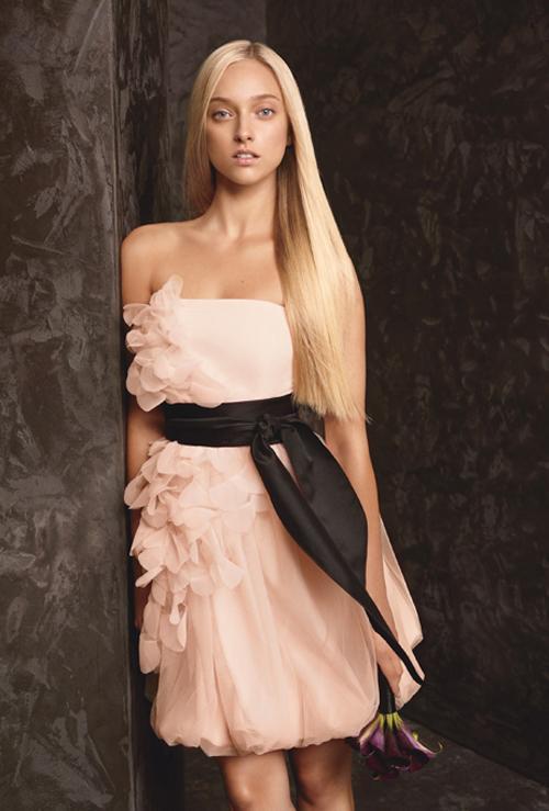 Xu hướng váy phù dâu tone màu pastel 2014 5