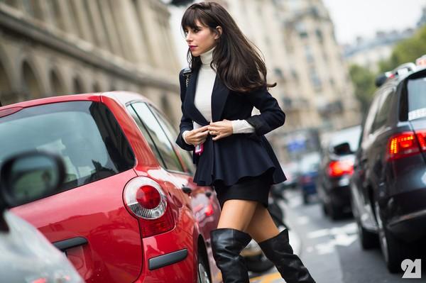 Street style ấm áp và cá tính của châu Âu ngày đầu đông 4