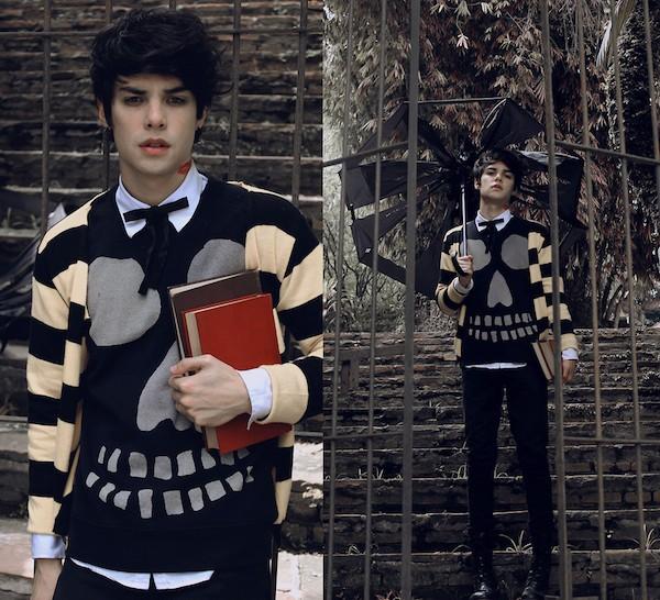Giới trẻ thế giới mặc chất với item menswear và bigsized 13
