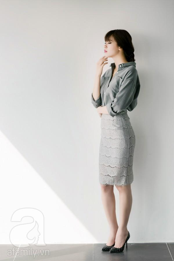 4 cách kết hợp đầy nữ tính và tôn dáng với chân váy bút chì 8