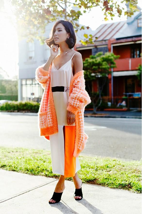 Gợi ý nhiều cách mặc cardigan ngày thu cho phái đẹp 7