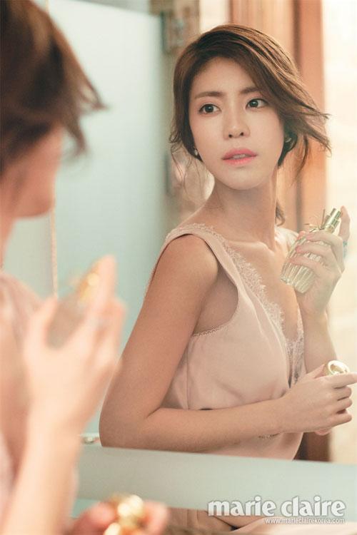 Lee Yoon Ji dịu dàng đón nắng mai