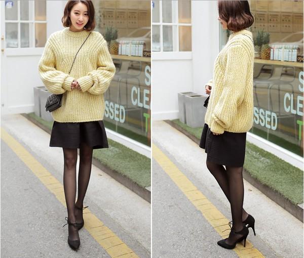 4 màu áo len gam pastel không thể thiếu của mùa đông 14