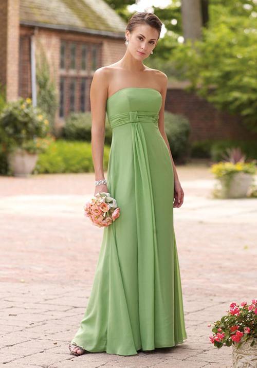 Xu hướng váy phù dâu tone màu pastel 2014 15
